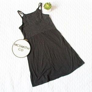 Toad&Co | Dark Gray 'Sambasol' Strappy Back Dress